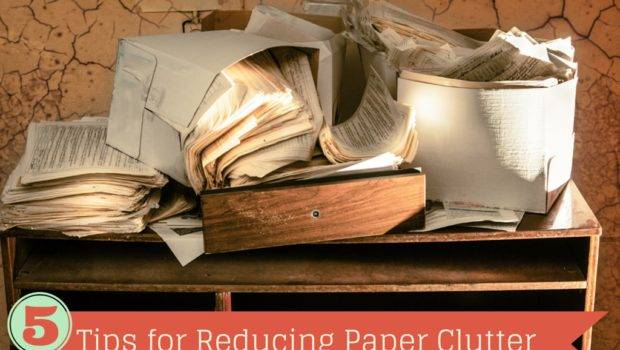 Tips Reducing Paper Clutter Nature Moms Blog