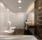 Top Bathrooms Abode Model Modern Classic Bath Earth Tones