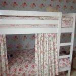 Top Bunk Bed Curtains Flower