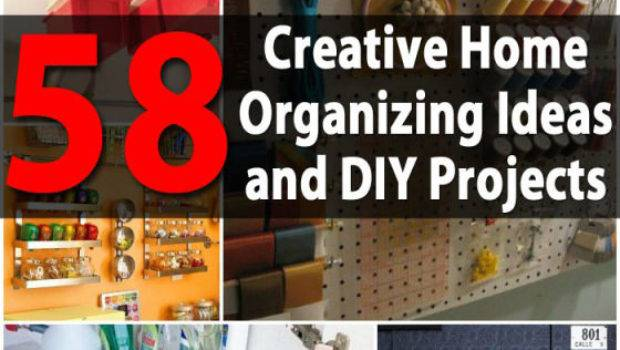 Top Most Creative Home Organizing Ideas Diy