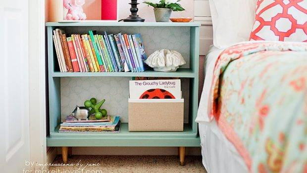 Top Nightstand Provides Nice Spot Daughter