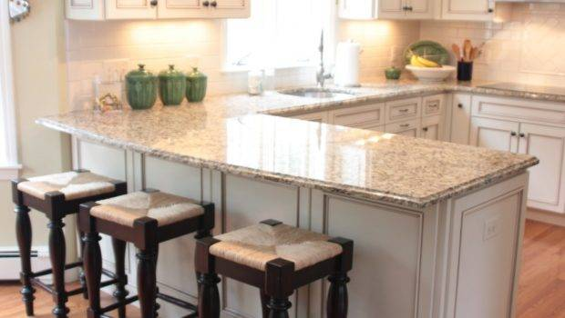 Top Shaped Kitchen Designs Breakfast Bar