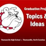 Topic Product Ideas Thomasville High School