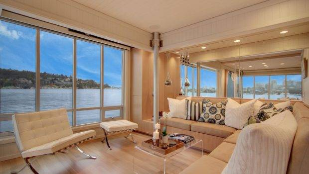 Tour Small Houseboat Seattle Interior Design Styles