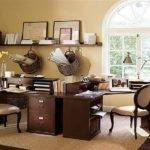 Traditional Decorating Ideasfor Home Offices Office