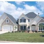 Traditional House Plan Front Home Plans