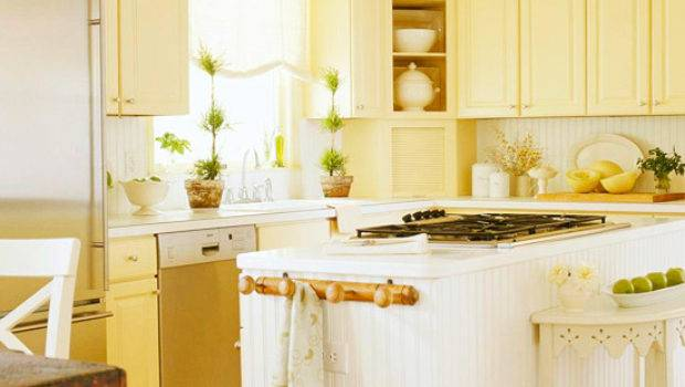 Traditional Kitchen Design Ideas Yellow Color
