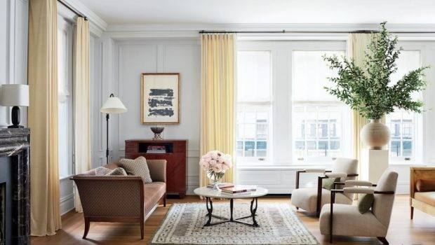 Traditional Living Room Aparicio Associates New York