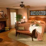 Traditional Ornaments Inside Cozy Bedroom Ideas Brown Bed
