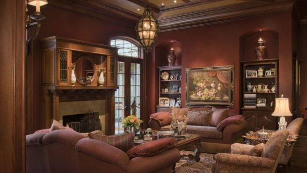 Traditional Style Interior Decorating Design