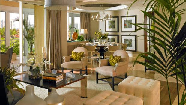 Transitional Living Room Beige Armchairs Ghost