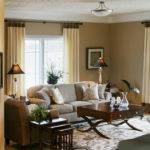 Transitional Living Space Traditional Room