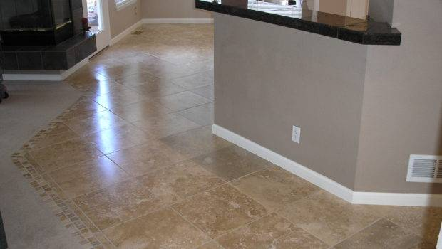 Travertine Floor Tile Pattern Ideas Clinic