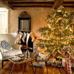 Tree Decorate Christmas Ornaments Rustic Decorating