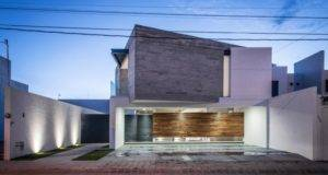 Trojes Shaped House Located Aguascalientes Mexico Designed Arkylab