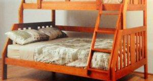 Troy Solid Double Bunk Bed Mattress Warehouse Sydney