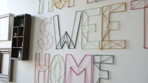 Try Diy String Art Four Generations One Roof