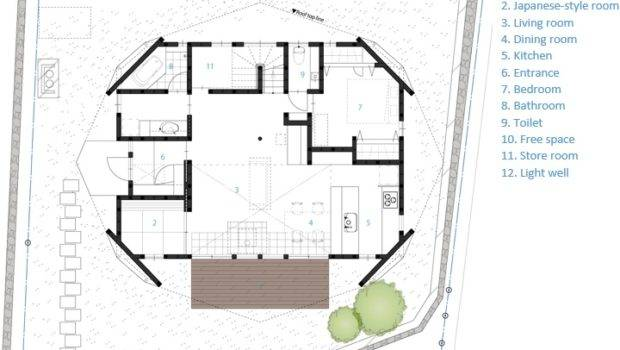Tsc Architects Mie Japan Small House Floor Plan Humble Homes