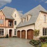 Tudor Style Stone Brick Custom Home Homes English Styles
