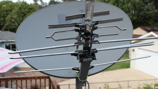 Turned Satellite Dish Into Badass Hdtv Antenna Album Imgur