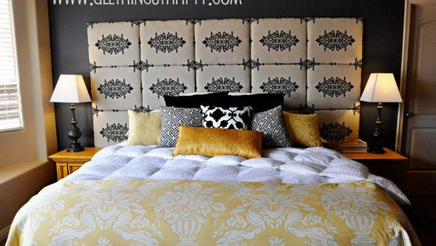 Tutorial Make Fabric Headboard
