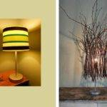Twig Lamp Nature Inspired Pinterest