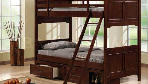 Twin Bunk Bed Features Classic Design Complements
