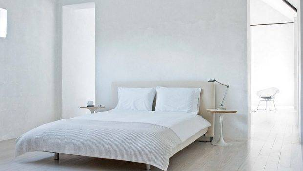 Twin Tulip Side Tables Next Bed