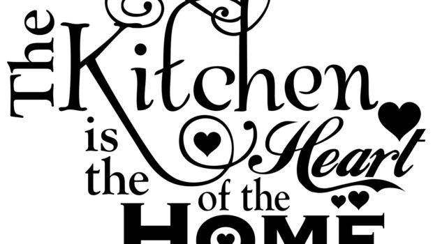 Two Chicks Vinyl Cutter Kitchen Heart Home