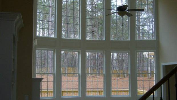 Two Story Window Walls Big Homebuilding