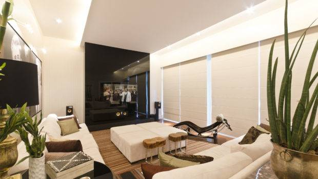 Ultra Modern Living Room Small Space Design