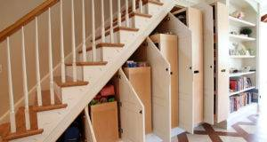Under Stair Storage Miles Enterprises Fine Custom Cabinetry
