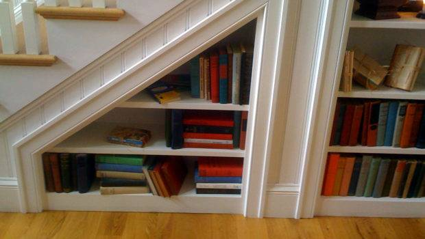 Under Stairs Bookcase Features