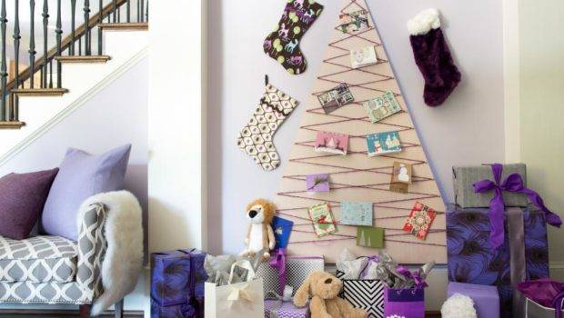 Unique Alternative Christmas Trees Try Holiday Decorating