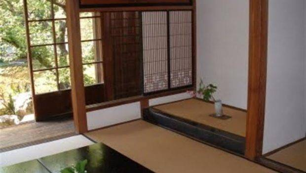 Unique Antique Traditional Japanese Design House Living Room