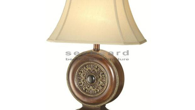 Unique Base Table Lamp Bell Shade Features