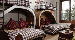 Unique Bunk Beds Kids Rustic Guest House