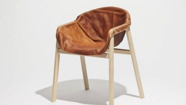 Unique Chair Hardened Leather Seating