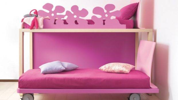 Unique Girls Bunk Beds Your Kids Girl Pink Twin