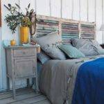 Unique One Kind Headboard Can Make Some Place