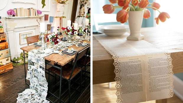 Unique Table Runner Ideas Inspiration Bow Ties Bliss