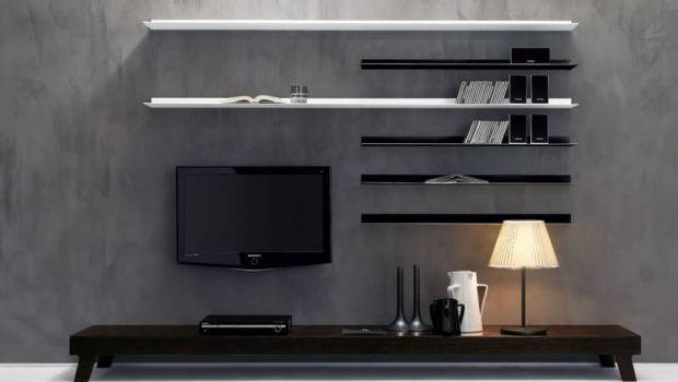 Unit Designs Awesome Deluxe Wall Living Room Interior