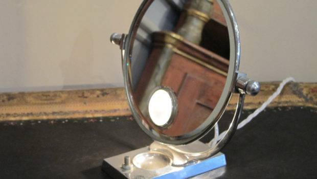 Unusual Vintage Hotpoint Beauty Lighted Mirror Other Mirrors