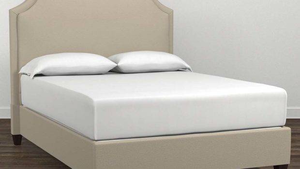 Upholstered Clipped Corner Twin Queen King Bed