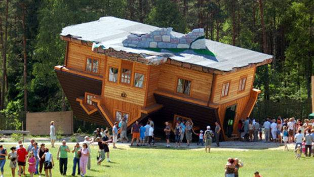 Upside Down House Top Everything