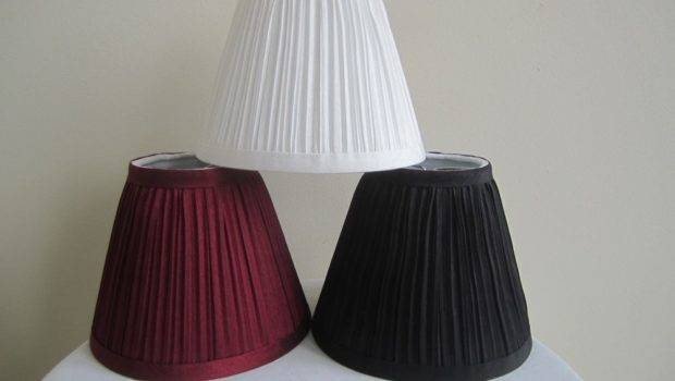 Urbanest Mushroom Pleated Chandelier Lamp Shade Hardback Lampshade