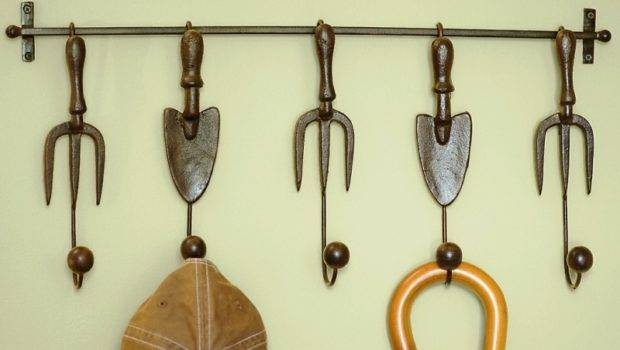 Using Decorative Wall Hooks Inspire Creative Mom