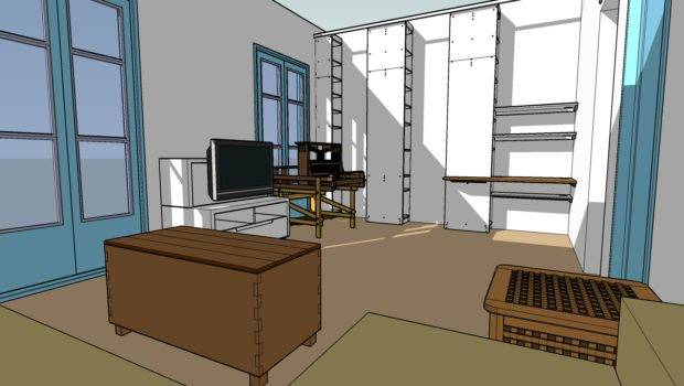 Using Google Sketchup Test Room Layouts Catmacey Stuff