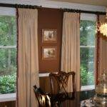 Velvet Window Treatments Interlined Which Gives Them