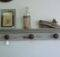 Very Cool Doorknob Molding Coat Rack Hooks Shelving Pintere